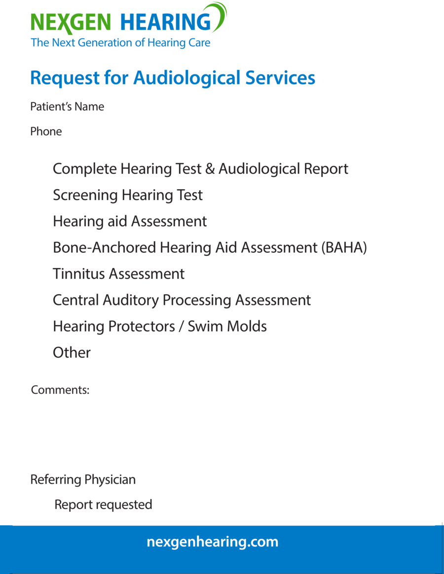 NexGen Hearing BC referral eForm 2018