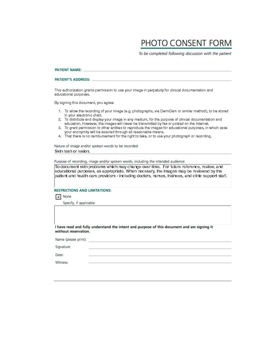 Photo Consent Form (Photo_Consent_V1_Oct22_2017)